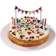Happy Birthday tordi topperid