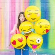 Emoji õhupall