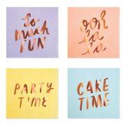 "Salvrätikud ""Party time"""