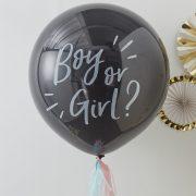 Gender Reveal Confetti Õhupall – poiss või tüdruk?