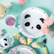 Lapse esimene söögikomplekt – panda