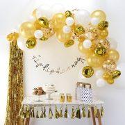 Õhupallide komplekt – kuldne kaar