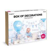 Party in a box – 1ne sünnipäev – helesinine