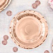 Taldrikud – roosa kuld