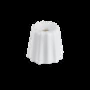 OVO Things Canele_Porcelain matte white