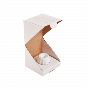 OVO Things Canele_Porcelain matte white in a box