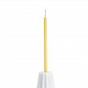OVO Things Canele_Porcelain matte white with a birthday candle